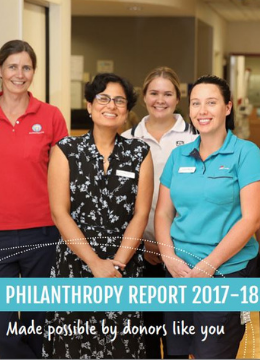 Philanthropy Report 2017-2018